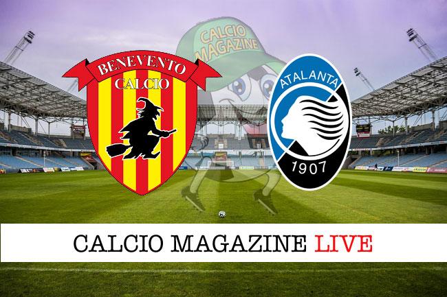 Benevento Atalanta cronaca diretta risultato tempo reale
