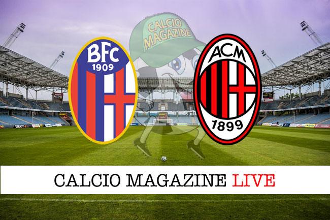 Bologna Milan cronaca diretta live risultato in tempo reale