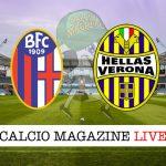 Bologna Verona diretta risultato tabellino tempo reale