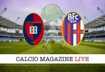 Cagliari Bologna cronaca diretta risultato tempo reale