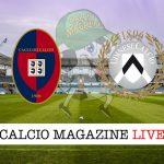 Cagliari Udinese cronaca diretta risultato in tempo reale