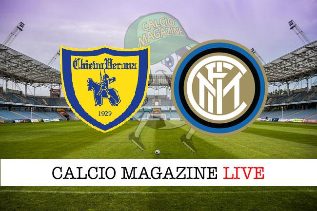 Chievo - Inter 1-2, il tabellino