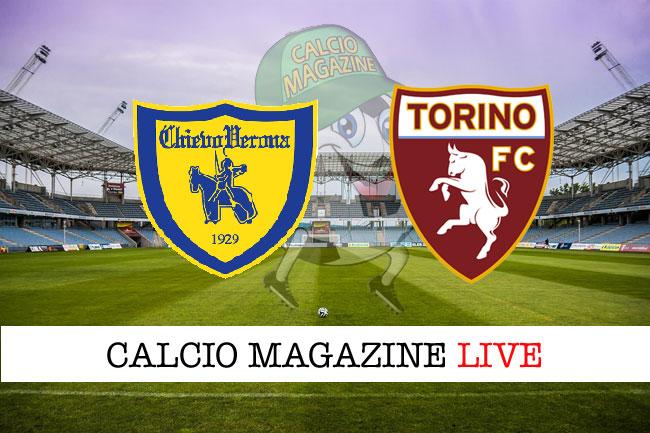 Chievo Torino cronaca diretta risultato in tempo reale