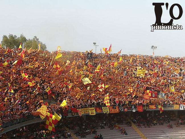 curva Lecce promozione Serie B 2017-2018
