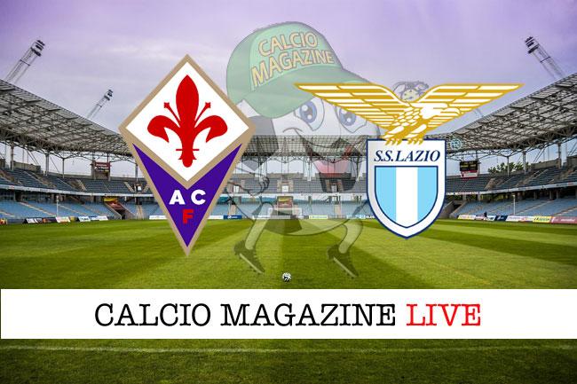 Fiorentina Lazio cronaca diretta live risultato in tempo reale