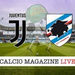 juventus Sampdoria cronaca diretta risultato in tempo reale
