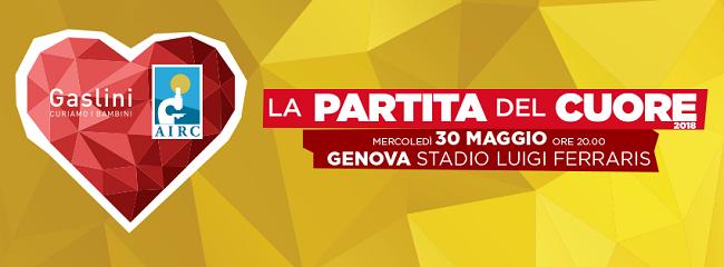 Partita del cuore, il 30 maggio a Genova in ricordo di Fabrizio Frizzi