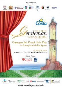 1°Premio Gentleman edizione Liguria per Perin e Quagliarella