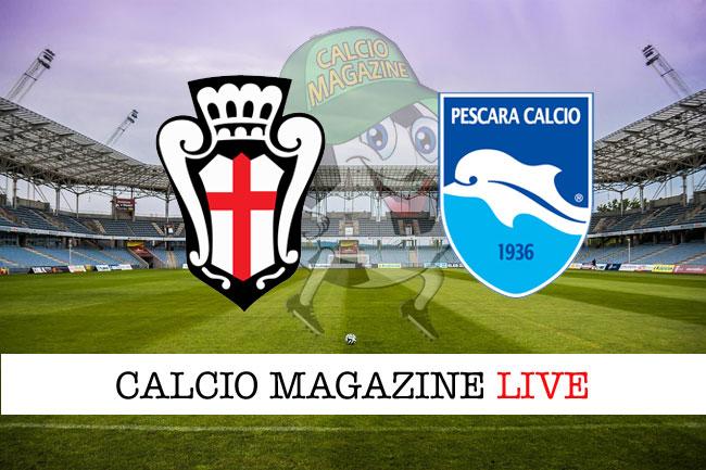 Pro Vercelli Pescara cronaca diretta risultato tempo reale