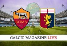 Roma Genoa cronaca diretta risultato in tempo reale