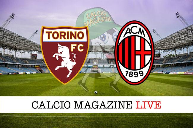 Torino - Milan 1-1, il tabellino: Abate centra un palo allo scadere