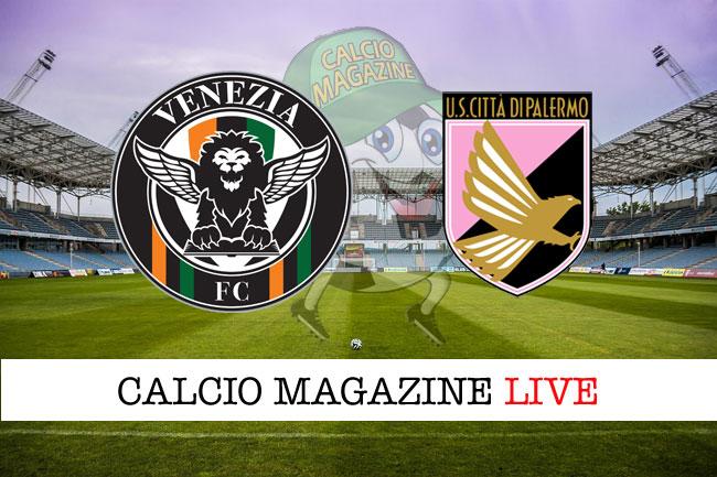 Venezia Palermo cronaca diretta risultato tempo reale