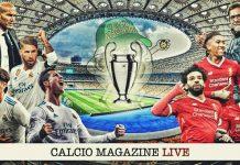 Real Madrid - Liverpool cronaca diretta risultato tempo reale