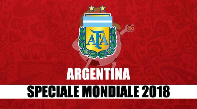 squadre Mondiale Russia 2018 Argentina