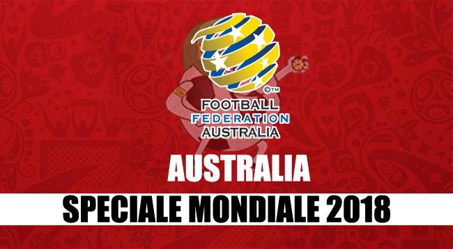 squadre Mondiale Russia 2018 Australia