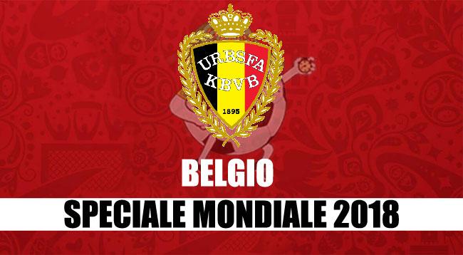 squadre Mondiale Russia 2018 Belgio