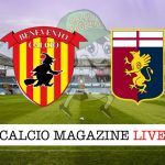 Benevento Genoa cronaca diretta risultato tempo reale