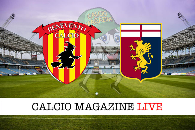 Benevento - Genoa, le formazioni ufficiali del match