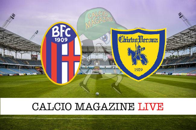 Bologna Chievo Verona cronaca diretta live risultato in tempo reale