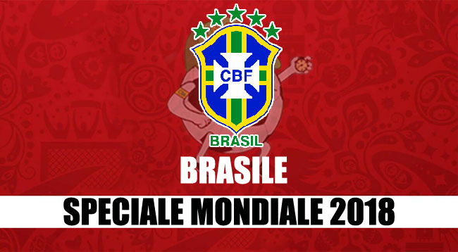 squadre Mondiale Russia 2018 Brasile