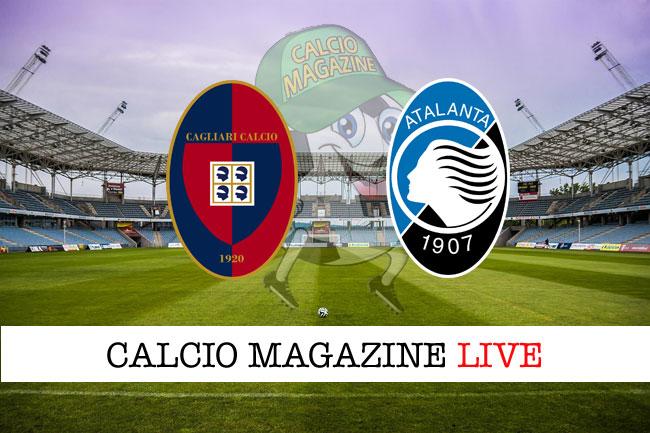 Cagliari Atalanta diretta risultato tabellino tempo reale