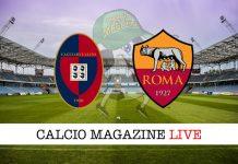 Cagliari Roma cronaca diretta risultato tempo reale