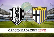 Cesena Parma cronaca diretta risultato tempo reale