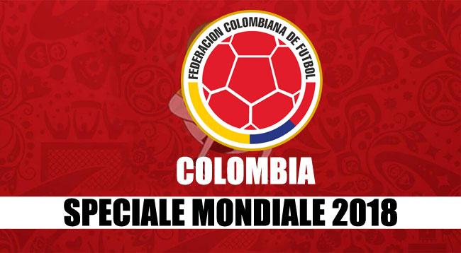 squadre Mondiale Russia 2018 Colombia