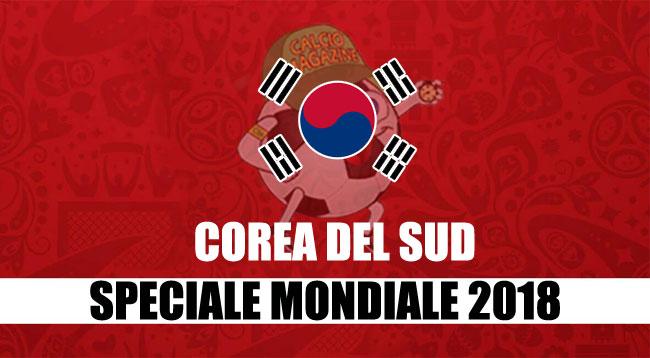 squadre Mondiale Russia 2018 Corea del Sud