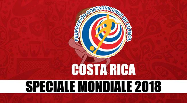 squadre Mondiale Russia 2018 Costa Rica