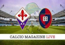 Fiorentina Cagliari cronaca diretta risultato tempo reale