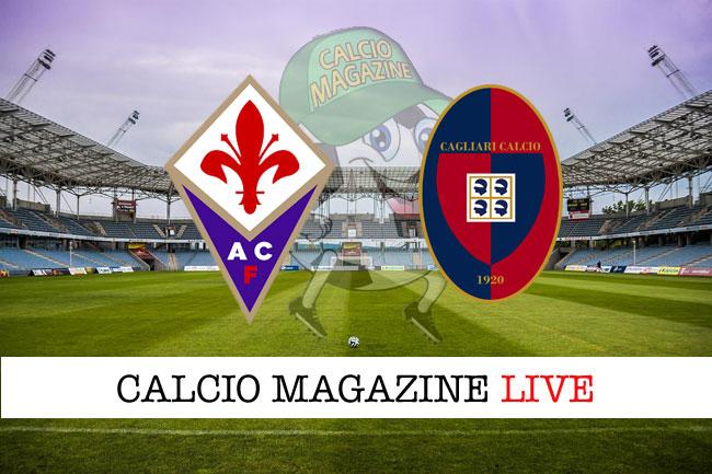 Fiorentina - Cagliari, le formazioni ufficiali