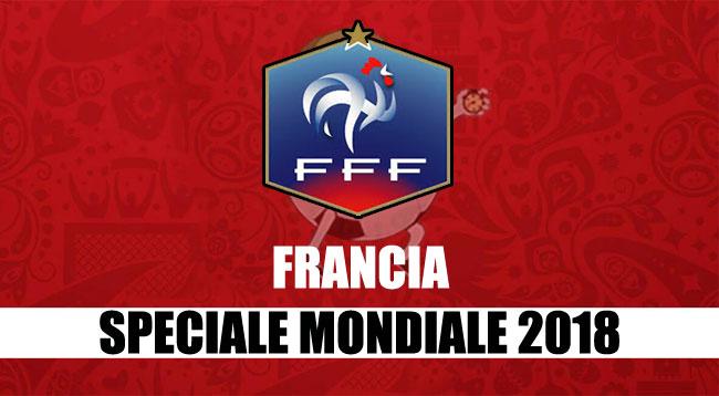 squadre Mondiale Russia 2018 Francia
