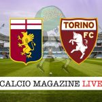 Genoa Torino cronaca direttta risultato tempo reale