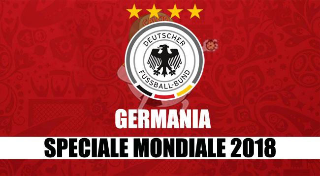 squadre Mondiale Russia 2018 Germania