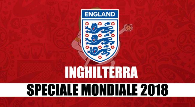 Inghilterra calcio rosa partite qualificazione girone Russia 2018