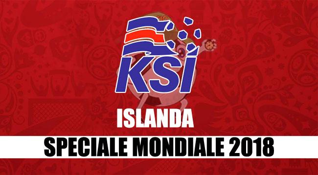 squadre Mondiale Russia 2018 Islanda