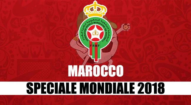 squadre Mondiale Russia 2018 Marocco