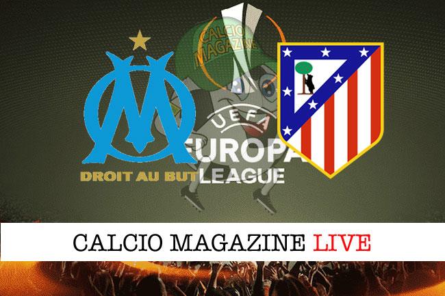 Marsiglia - Atletico Madrid 0-3, il tabellino