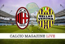 Milan Hellas Verona cronaca diretta risultato tempo reale