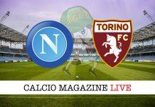Napoli Torino diretta risultato tabellino tempo reale
