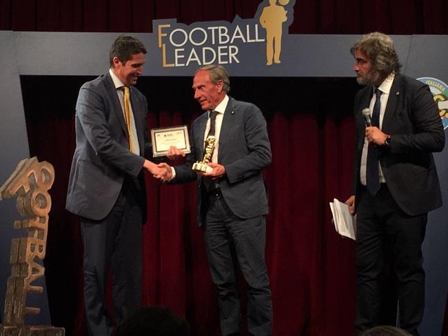 Football Leader 2018 premiato Zeman