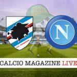 Sampdoria Napoli cronaca diretta live risultato in tempo reale