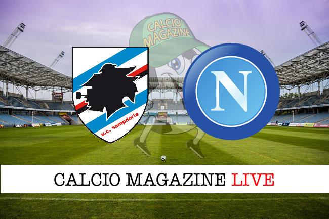 Sampdoria - Napoli 0-2: Milik - Albiol, tutto nella ripresa