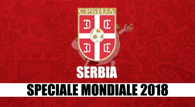 squadre Mondiale Russia 2018 Serbia