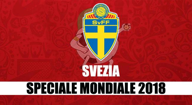squadre Mondiale Russia 2018 Svezia