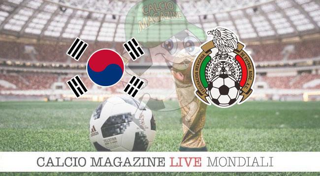 Corea del Sud - Messico 1-2, il tabellino