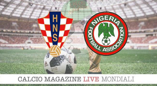 Croazia Nigeria cronaca diretta risultato in tempo reale
