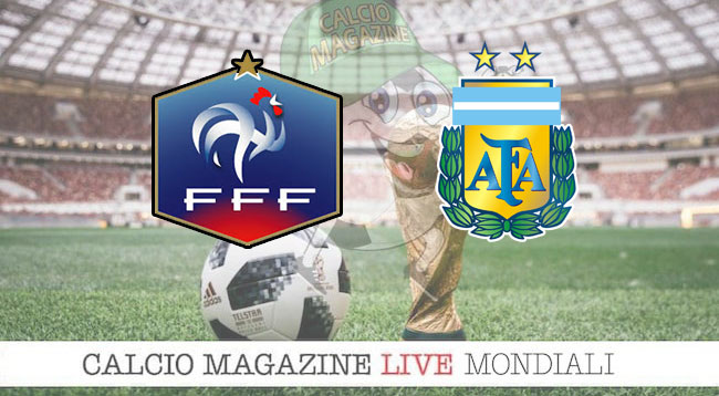 Francia Argentina cronaca diretta risultato in tempo reale