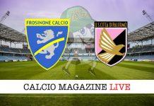 Frosinone Palermo cronaca diretta risultato in tempo reale